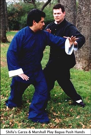 Shifu's Garza and Marshall Play Bagua Push Hands